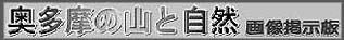☆・・奥多摩の山と自然・画像掲示板・・☆